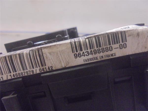 fuse box citro�n xsara picasso (n68) 2 0 hdi 2489195 Citroen Xsara Iznutra fuse box 9643498880 0t118470003i; citro�n, xsara picasso (n68) 2 0 hdi (90hp