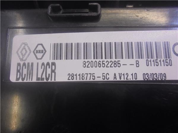 fuse box 8200652285 0 renault, clio iii (br0/1, cr0/1)