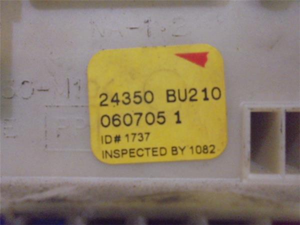 Nissan Almera 2014 Fuse Box Location