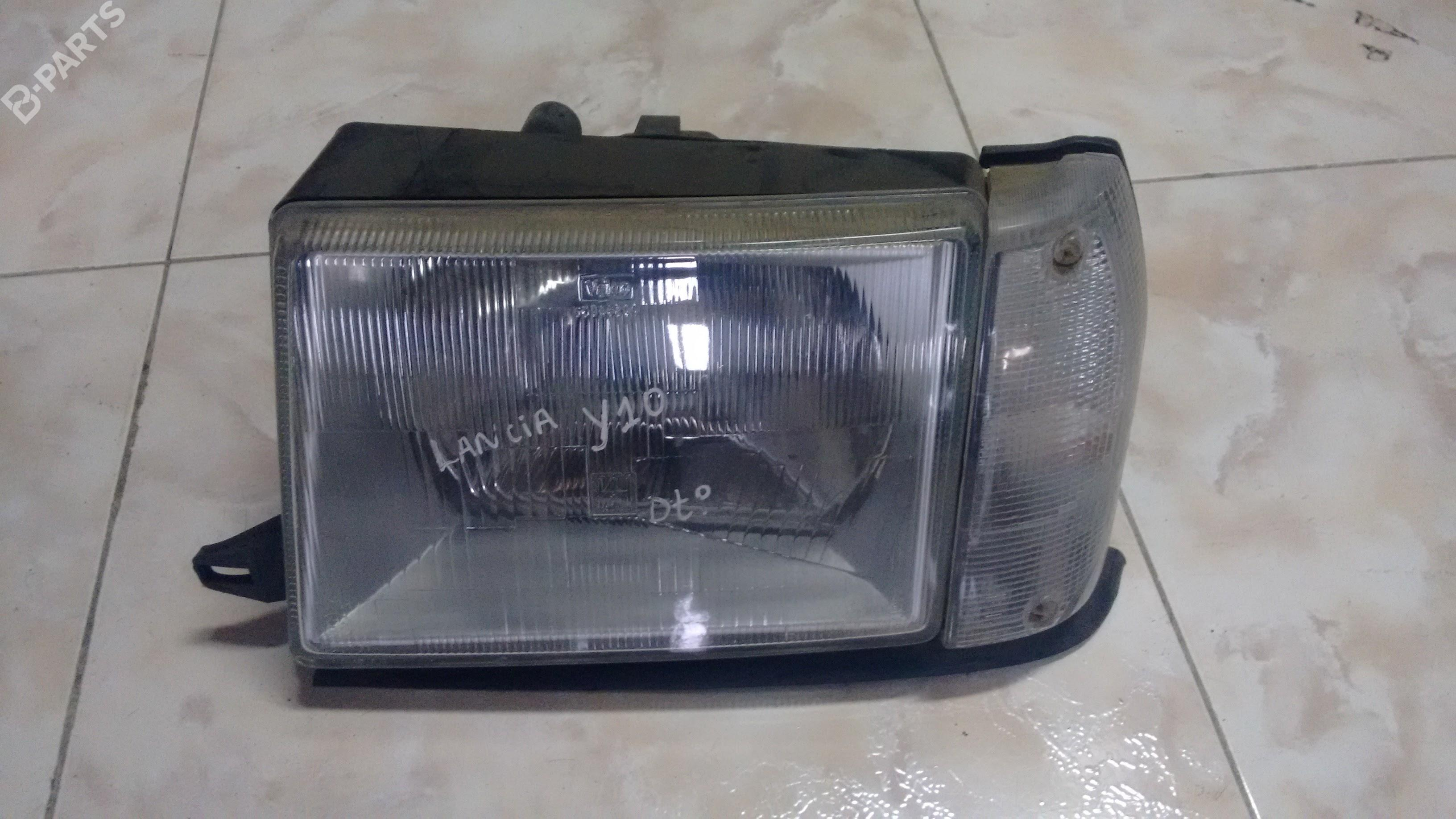 Left headlight lancia left headlight lancia y10 156 3 doors 1985 1986 vanachro Choice Image
