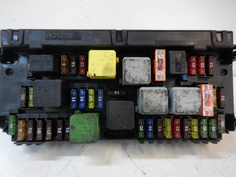 fuse box  2129015304 bosch   mercedes-benz, e-class