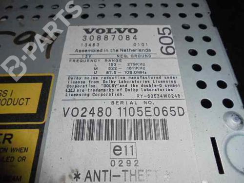Radio VOLVO V40 Estate (645) 2 0 T 30887084     B-Parts