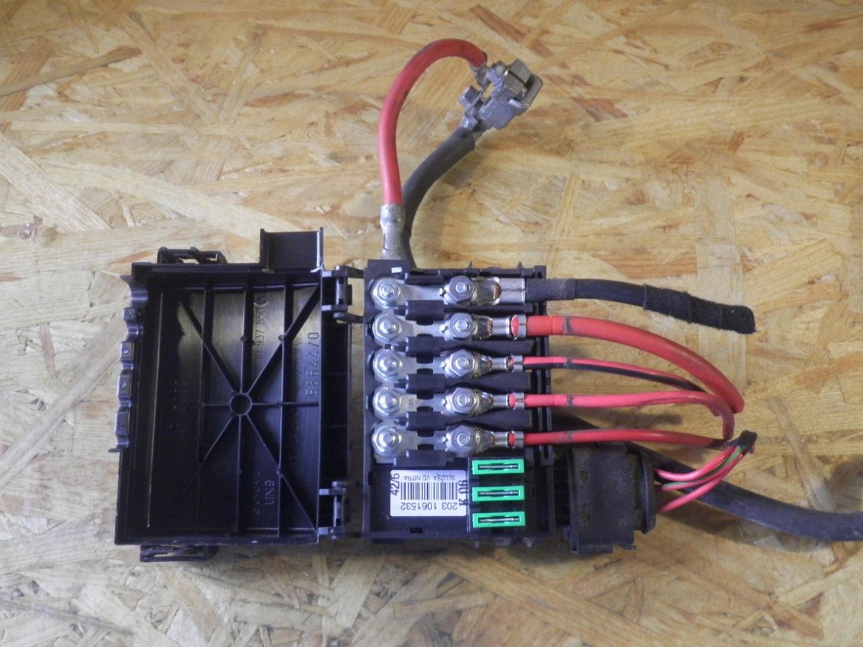 fuse box skoda, octavia i (1u2) 1 9 tdi(4 doors) (
