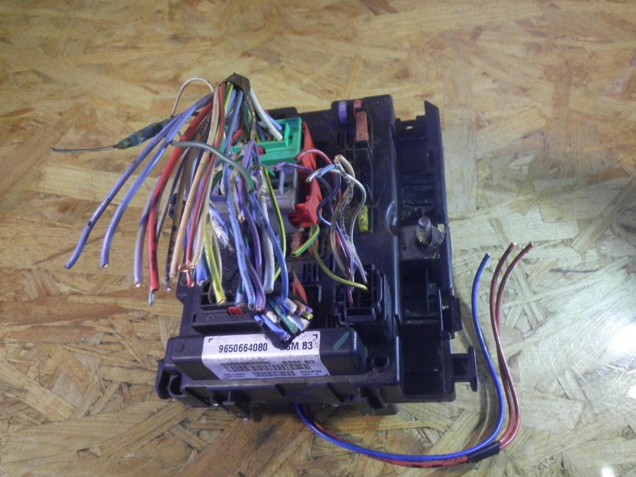 fuse box 9650664080|peugeot| peugeot, 307 break (3e) 1 6 hdi 110