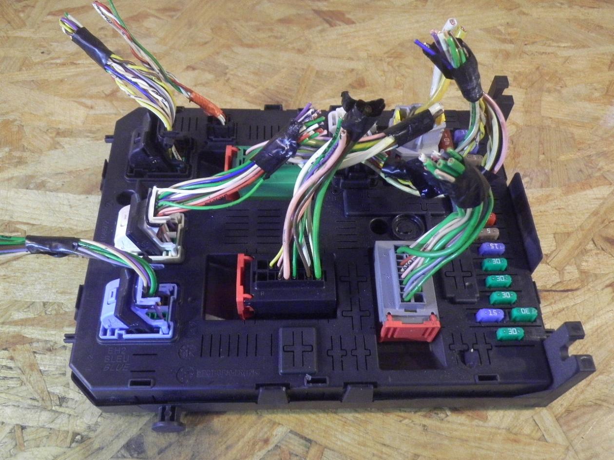 fuse box 966405878002|citroen| citro�n, berlingo box (b9) 1 6 hdi 90