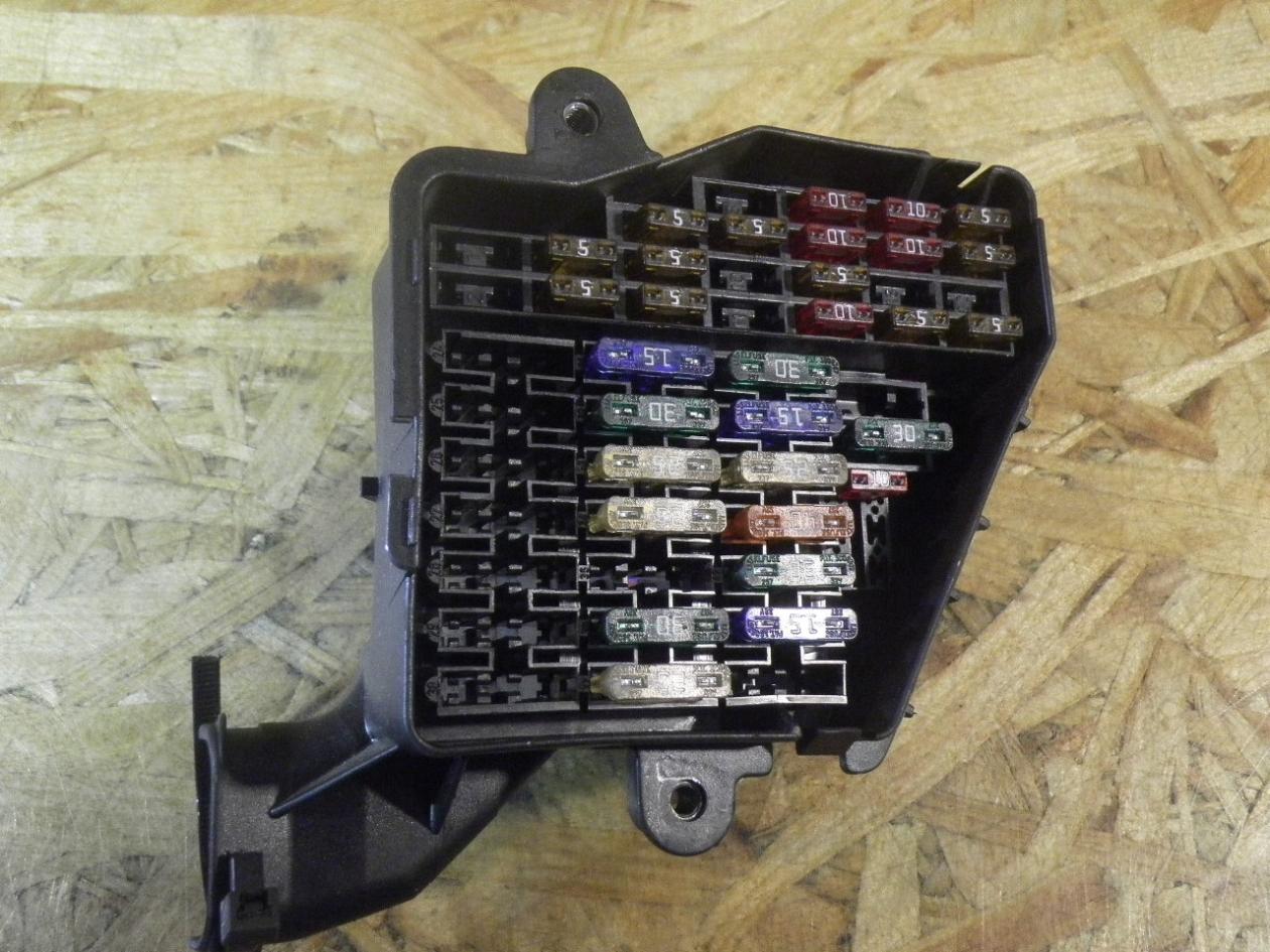 fuse box 8d1941824|audi| audi, a6 avant (4f5, c6) 4 2