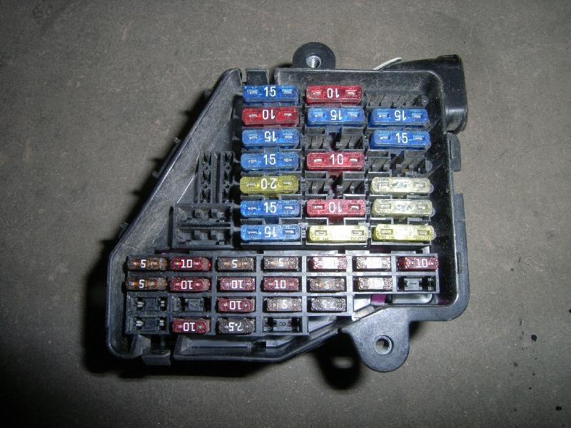 fuse box skoda, octavia i (1u2) 1 6(5 doors) (101hp