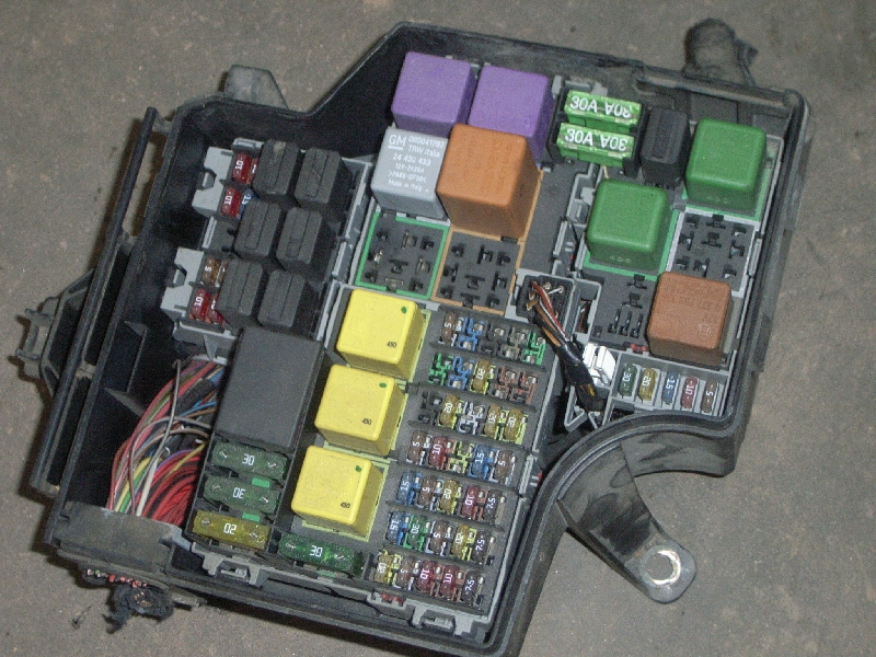 Fuse Box Vectra C Rear Fuse Box Removal on