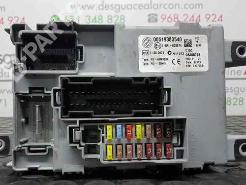 Fuse Box OPEL COMBO Box / Estate (X12) 1.3 CDTI (B05 ... Vauxhall Combo Cdti Fuse Box on