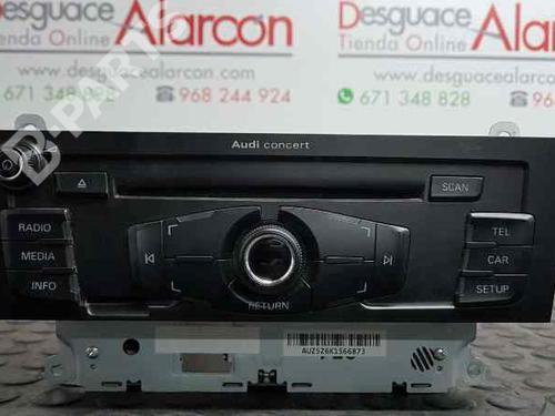 Radio AUDI A4 (8K2, B8) 2 0 TDI 8T1035186P | 8T1035186PX