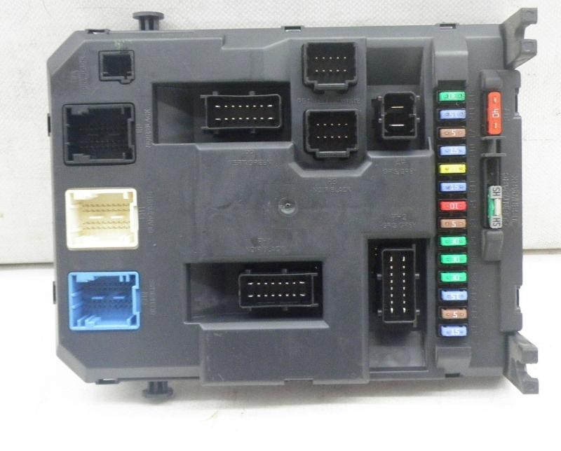 fuse box 9666952380|peugeot| peugeot, 207 sw (wk_) 1 4(5