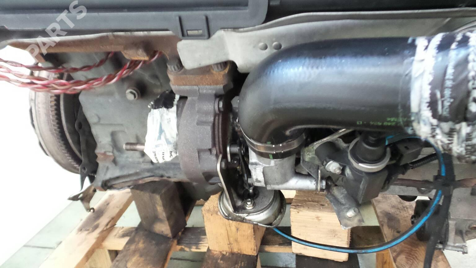 Engine Bmw X5 E53 30 D 37136 Motor Blower Complete 306d1 184hp M57 D30