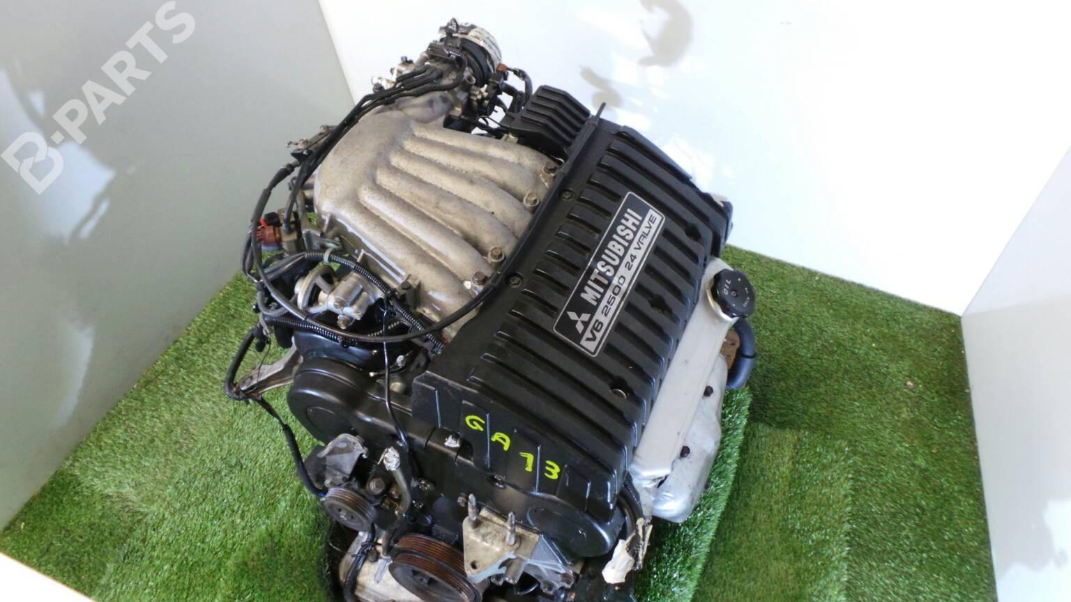 Engine Mitsubishi Galant Vi Ea 25 V6 24v 84822 Fuse Box 2000 Complete 280hp 6a13tt