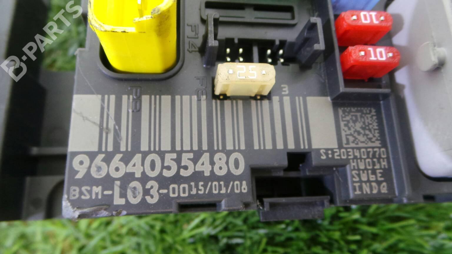 Citroen C3 1 4 Hdi Fuse Box Wiring Library Corvette 96 640 554 80 Citron I Fc 14