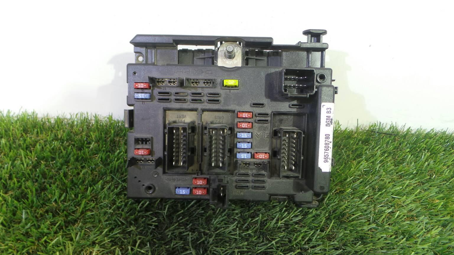 Fuse Box 96 576 087 80 CITROËN, XSARA PICASSO (N68) 1.6 HDi(