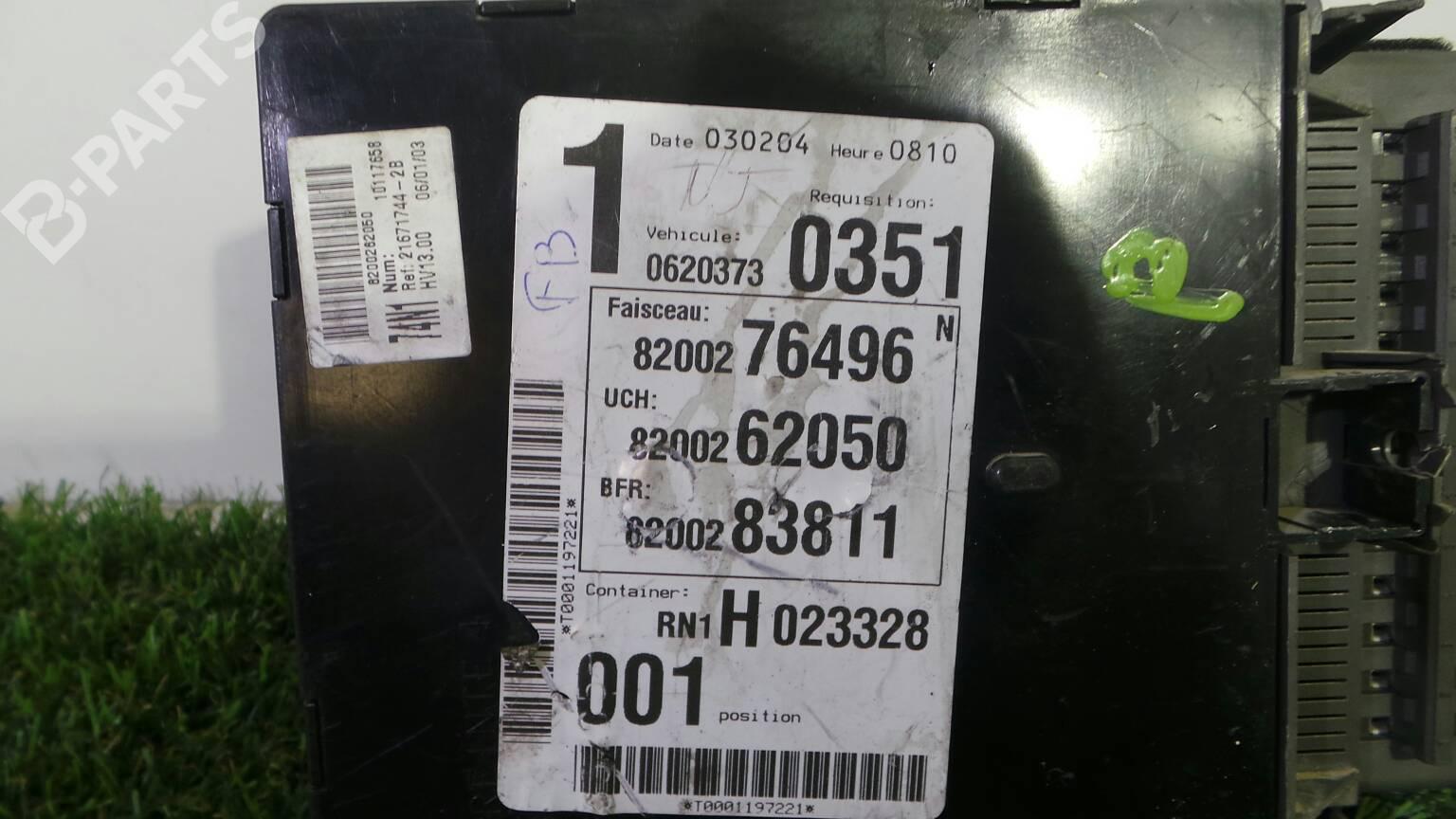 Fuse Box Renault Laguna Ii Bg0 1 18 16v Bg04 Bg0b Bg0c Bg0v Cover 8200 283 811