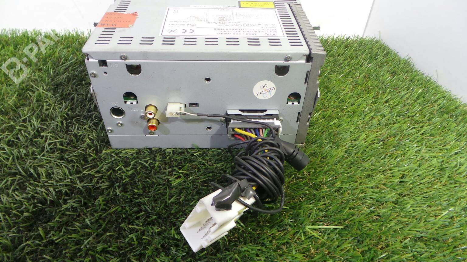 Radio Kia Sorento I Jc 25 Crdi 1582234 Transfer Box Fuse Xcd 220rds Crdi5 Doors