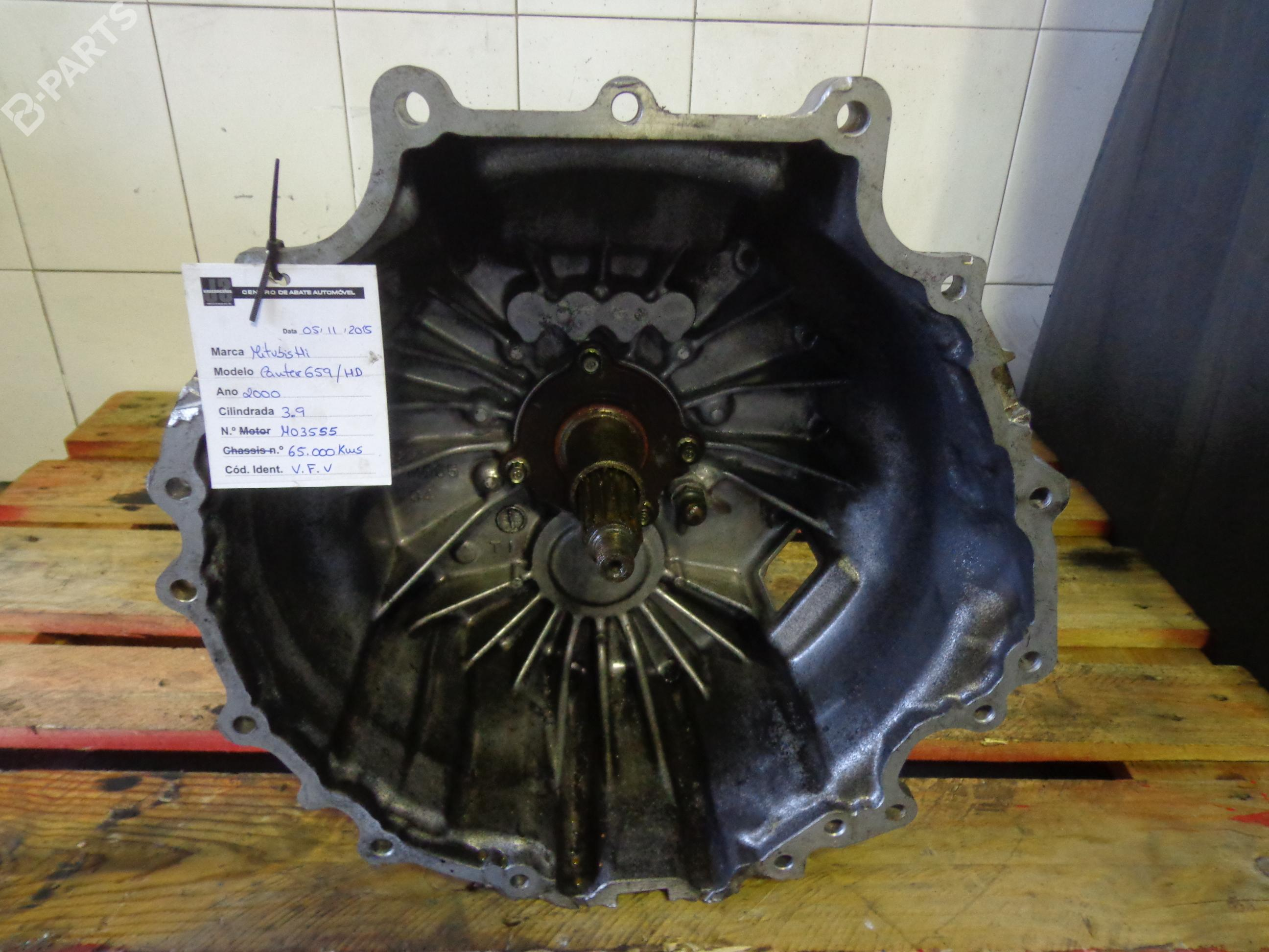 Manual Gearbox MO35S5 MITSUBISHI, CANTER Platform/Chassis (FB6_, FE5_, FE6_)