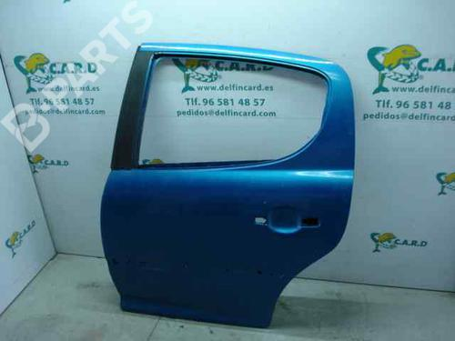 Porta Trás Esq. 9006N2 PEUGEOT, 207 Van 1.4 HDi(5 portas) (68hp) 8HZ (DV4TD), 2007-2008-2009-2010-2011-2012-2013-2014-2015-2016-2017-2018-2019 12842565
